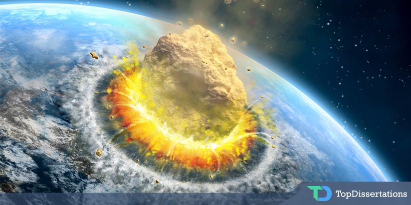 Earth May Be Hit by Meteoroids