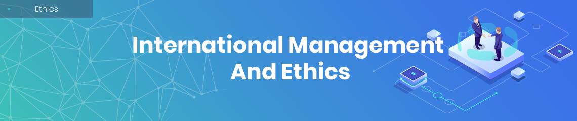 international management essay